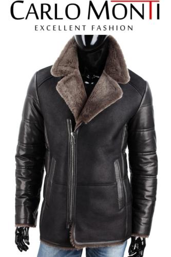 c9cb8342095a7 Kożuch męski   kurtka zimowa DORJAN CM TUR450 - Kurtki skórzane ...