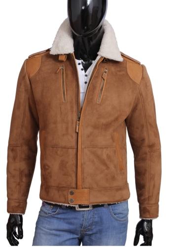 70d6e44720d4a Kożuch męski   kurtka zimowa DORJAN JKB010 2 - Kożuchy   Kolekcja ...