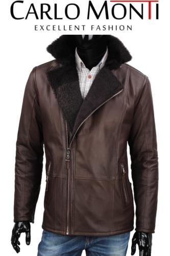 Kożuch męski kurtka zimowa DORJAN CM CASK004